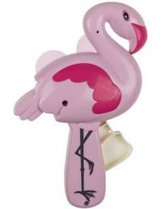 Ventilador de Mano Diseño Flamenco Rosa