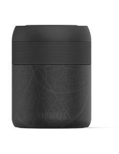 KAMBUKKA Termo de Comida BORA 600ml Hasselt 9h Caliente BPA Free Con Ventilacion Para Vapor