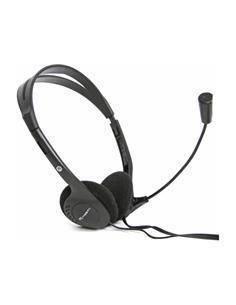 FIESTA Auricular de Casco Para PC Con Microfono FIS1010 Cable,2X Jack 3.5mm