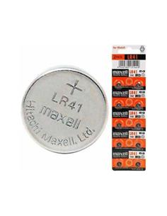 MAXELL Pila Boton Alkalina LR41 1.5V