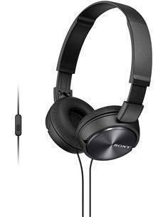 SONY Auricular de Casco Con Microfono MDR-ZX310AP Plegable Negro