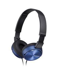SONY Auricular de Casco Con Microfono MDR-ZX310AP Plegable Azul