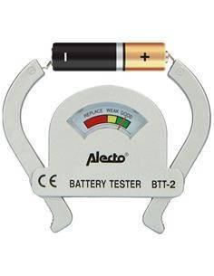 ALECTO Comprobador de Baterias AA-AAA-C-D-9V PP3 BTT-2