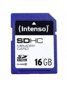 INTENSO Tarjeta Memoria SDHC 16Gb Clase 10