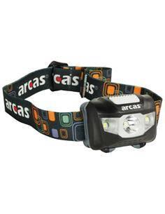 ARCAS Linterna Led Frontal Cabeza 5W,160 Lumenes,4 Funciones LIN082