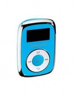 INTENSO Reproductor Mp3 Music Mover 8 Gb con Pantalla 2.5cm, Lector Tarjeta Azul