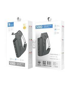 LT PLUS Bateria Externa Portatil 5000mAh Con Gancho D5016