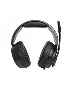 FONESTAR Auricular de Casco Gaming WIN Con Microfono Abatible Cable Jack 3.5mm Negro