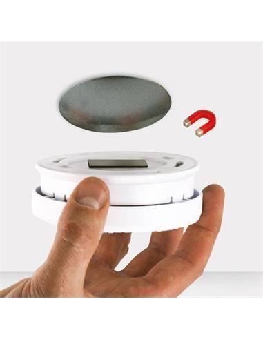 ALECTO Adhesivo Magnetico Para Dectectores De Humo y Monoxido de Carbon MK-2