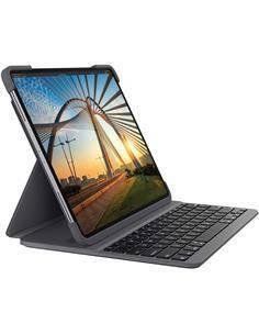 "LOGITECH Funda Con Teclado Bluetooth SLIM FOLIO PRO Ipad Pro 12.9"" 3º y 4º Gen Negro 920-009708"