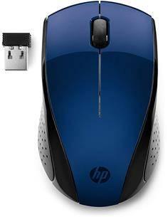 HP Raton Optico Inalambrico 220 Tecnologia Led Azul Color Azul