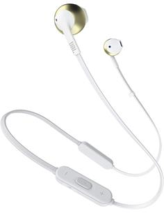 JBL Auricular Bluetooth De Cordon TUNE 205BT Dorado