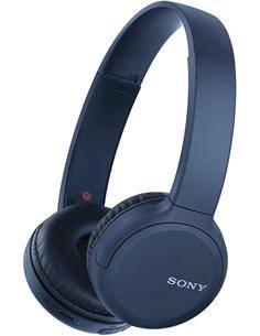 SONY Auricular de Casco Bluetooth WH-CH510 Azul Funcion Manos Libres