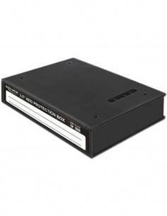 "DELOCK Caja Carcasa Protectora Para Disco Duro 3.5"" 18203"