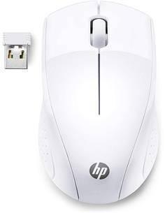 HP Raton Inalambrico 220 Blanco Tecnologia Led Azul