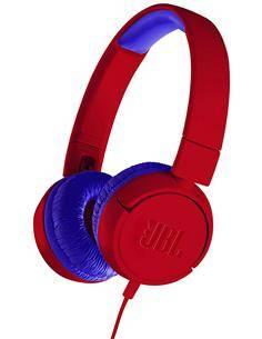 JBL JR300 Auriculares Estereo Casco Para Niños Rojo