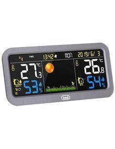 TREVI Estacion Metereologica Con Display En Color, Sensor Externo, Termometro ME3P20RC