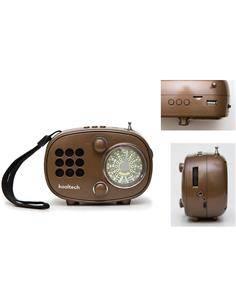KOOLTECH Radio Portatil AM/FM/SW Bluetooth Retro CPR REGGAE Usb,Micro Sd