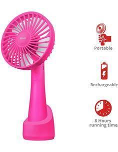 TRUST Ventilador Usb VENTU Go Rosa 23114
