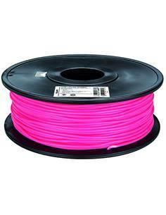 Bobina Filamento PLA 3MM Rosa Fluorescente Para Impresora 3D