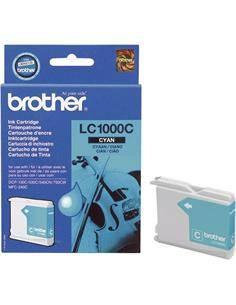 BROTHER Tinta LC1000C Cyan Para DCP-120C/330C/540CN/750CW/240C
