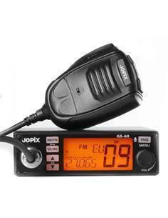 JOPIX Emisora Movil CB-27 FM/AM GS60 40 Canales 4W 12-24V