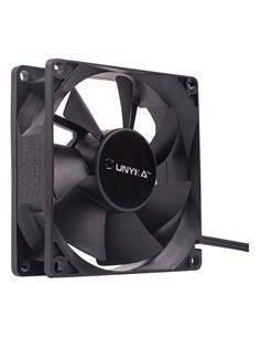 UNYKA 51786 Ventilador 80X80X25mm,12V/0.25A