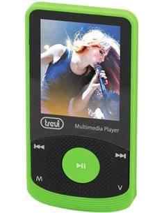 TREVI Reproductor Mp4 MPV1725 Verde Radio Fm, Micro Sd, Foto Video Con Auriculares