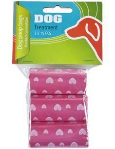 MAXXPRO Pack de 3 Rollos De Bolsas Para Excrementos de Mascotas