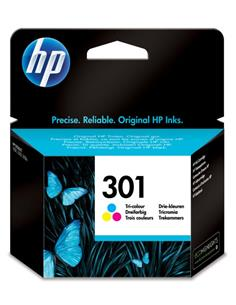 HP Tinta 301 Color CH562EE Para Deskjet 1050, 2050