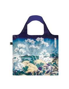 LOQI HO.FU Bolsa Plegable Forma Hokusai Fuji Desde Gotenyama  50x42Cms/ Hasta 20Kg de Carga