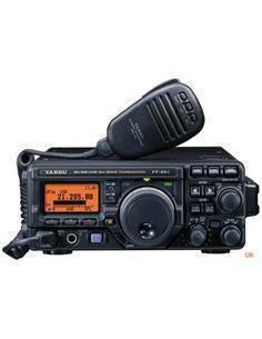 YAESU Emisora Movil 3 Banda  FT-897D HF-VHF-UHF 100W