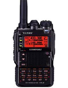 YAESU Emisora Portatil TriBanda VX-8E 50/144/430MHZ, Submergible