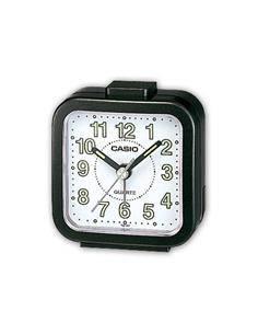CASIO Reloj Despertador TQ-141 Negro