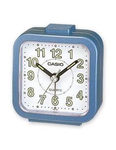 CASIO Reloj Despertador TQ-141 Azul
