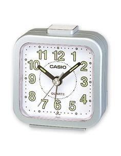 CASIO Reloj Despertador TQ-141 Plata