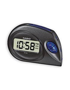 CASIO Reloj Despertador Digital DQ-583 Negro