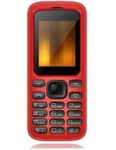 QUBO Telefono Movil GEA Rojo Dual Sim, Radio Fm, Micro Sd