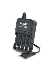 ARCAS Cargador Bateria NiMH/NiCD AA/AAA CAR311 carga indiviual pila a pila