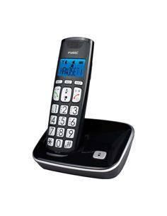 FYSIC Telefono Inalambrico FX-7000 Con Teclas Grandes, Volumen llamada Alto