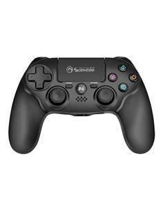 MARVO Mando Inalambrico Para PS4 y PC por Cable GT-64 Negro