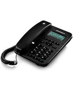 MOTOROLA Telefono Fijo Sobremesa CT202 Negro Manos libres