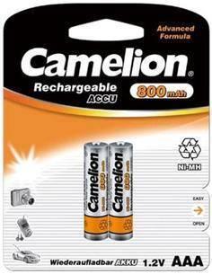CAMELION Pack 2 Pilas AAA Recargables 1.2V/800Mah BAT405
