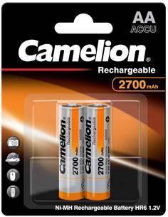 CAMELION Pack 2 Pilas AA Recargable 2700MAH 1.2V BAT421
