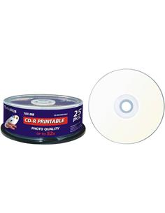 FUJIFILM Pack De 25 CD-R 52X 700Mb Printable