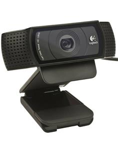 LOGITECH C920 HD Pro Webcam Full HD,15MP, 2 microfonos audio stereo,lente con 5 elementos.