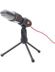 GEMBIRD Microfono De Sobremesa Con Tripode y Jack 3.5mm MIC-D-03