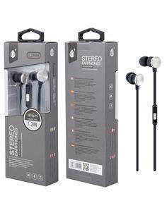 ONEPLUS C2949 Auricular Estereo Con Microfono 1.2Mtrs Plata