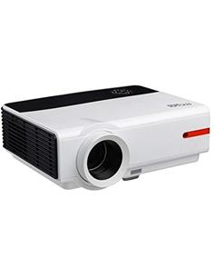 BILLOW Proyector Led 3200Lm, Full HD 1920x1080, VGA, 2xHDMI, 2xUSB Blanco