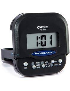 CASIO Reloj Despertador PQ-30B-1 Negro